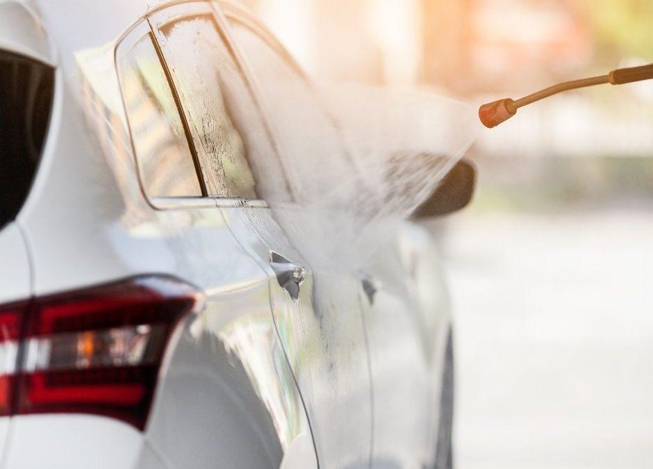 Milieuvriendelijk je auto wassen?